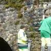 Nettoyage du pont de Vorge Les Pins
